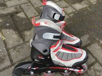 Inline Excess Roller Skates MX S1000 size 12 Junior to 2 Euro 31 to 34