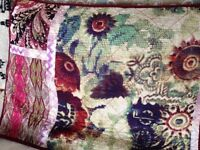 Designer Bed Quilt & Pillowcases: Poetic Wanderlust by Tracy Porter