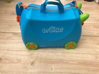 Kids Blue Trunki Suitcase TRUNKI