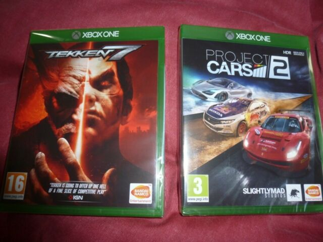 Brand New Xbox One Games Tekken 7 And Project Cars 2 In Crewe Cheshire Gumtree