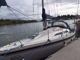 Moody 28 Bilge Keel Yacht For Sale