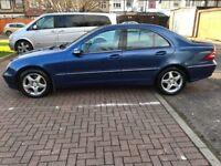 2003 Mercedes-Benz C Class 2.1 C220 CDI Avantgarde SE 4dr Automatic @07445775115