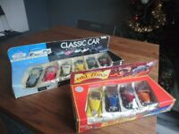10 Classic Car Model Collection, Cars Opening Doors MINT
