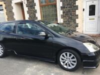 Honda Civic Sports (Typre R seats, Bluetooth, Pvt Plate, Good coniditon, Great Runner)