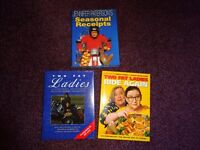 3 x Two Fat ladies hard back cook books