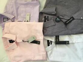 4 river island shirts half sleeve brand new