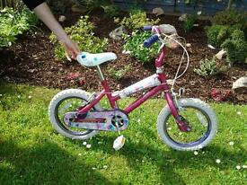 Small girl's bike