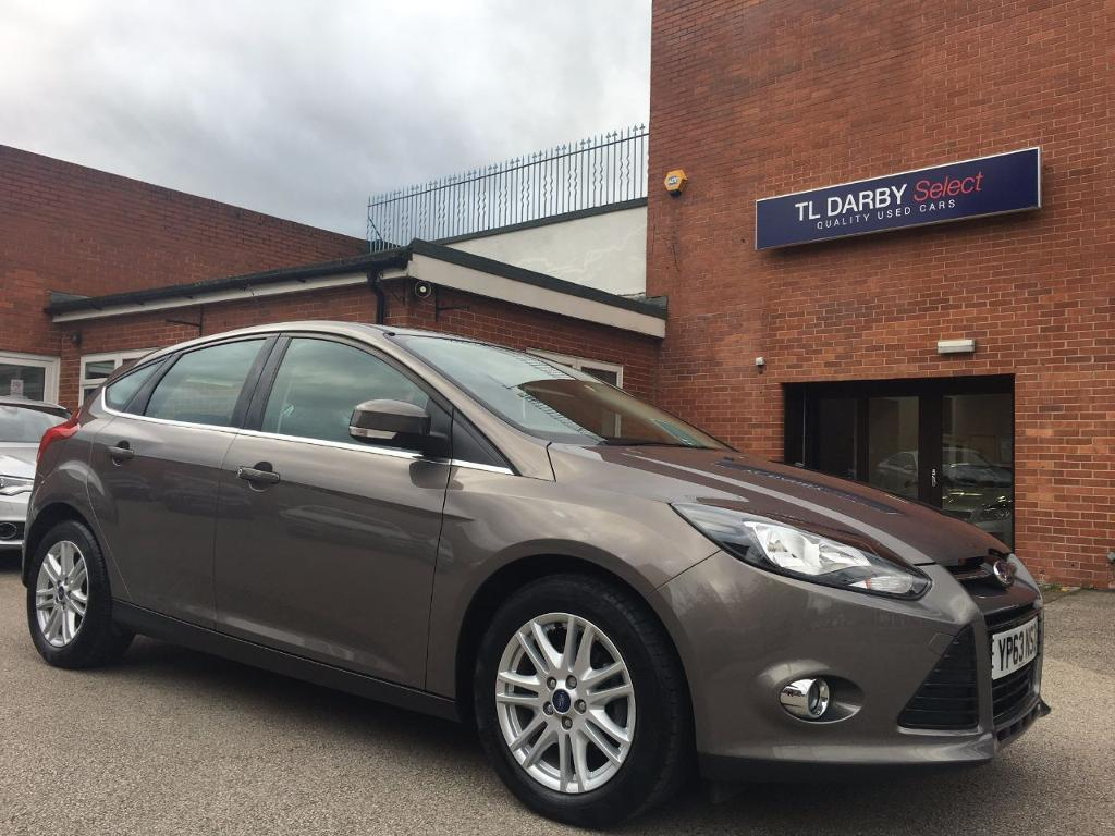 ford focus 1 6 tdci 115 titanium 5dr tectonic silver 2013 in burton on trent staffordshire. Black Bedroom Furniture Sets. Home Design Ideas