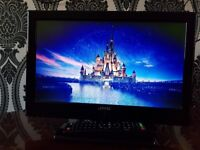 JMB 16 INCH HD TV WITH BUILT IN DVD PLAYER AND FREEVIEW