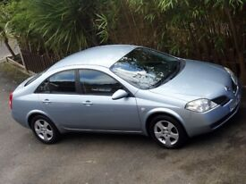 2007 (07) NISSAN PRIMERA 1.6 SVE SALOON - 52,000 MILES ONLY - LEATHER - SAT NAV - REVERSING CAMERA!