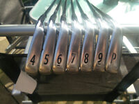 Titliest AP2 710 Irons 4-PW fitted with True Temper S300 stiff flex shafts