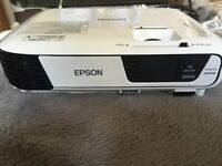 Epson EB-W31 HD projector - used 4 times for England's Euro 2016 campaign