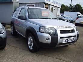 LAND ROVER FREELANDER. XEI 3DOOR, ONLY 51000 MILES