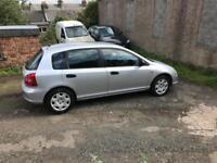 2003 Honda Civic for sale £825