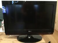 LG tv with dvd
