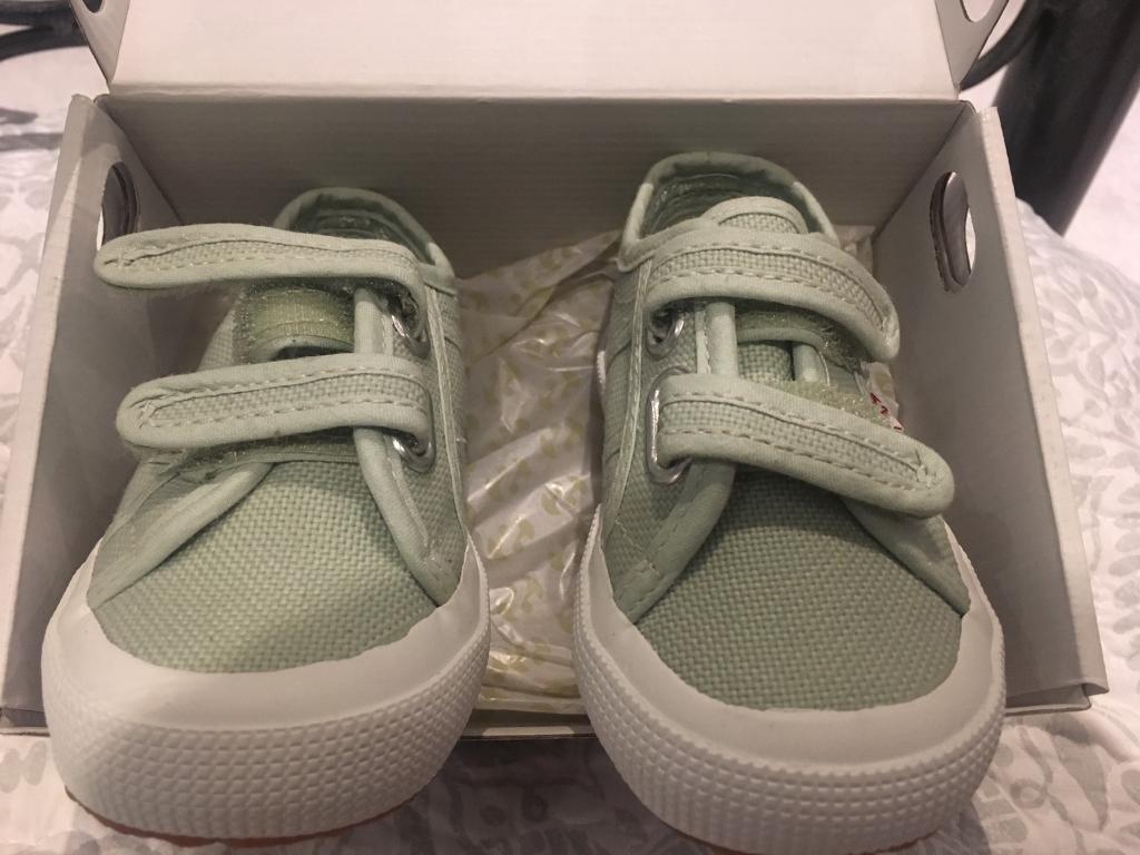 Superga children's shoes size 7