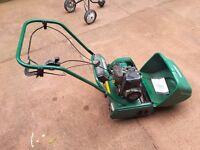 BOSCH made petrol QUALCAST lawnmower. BARGAIN