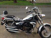 lifan 125cc soft tail