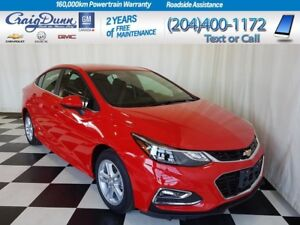 2018 Chevrolet Cruze * LT Sedan * Heated Seats * RS Package *