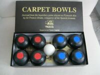 Nauticalia Drakes Indoor Carpet Bowls Set