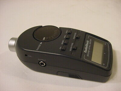 Radio Shack Sound Level Meter
