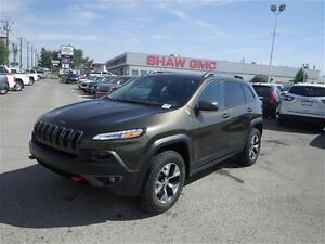 2015 Jeep Cherokee Trailhawk | Leather | Rem. Start | Backup Cam