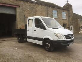 2006 MERCEDES SPRINTER 311 CDI DOUBLE CAB TIPPER
