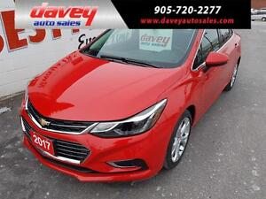 2017 Chevrolet Cruze Premier Auto LEATHER INTERIOR, HEATED SE...