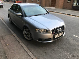 2007 Audi A4 S Line 170 bhp Special Edition Full Leather Sat Nav Top Spec