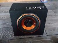 Edge 750 watts active bass reeflex subwoofer