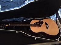 Gretsch acoustic guitar and hard case