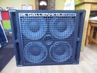 Used Gallien Krueger 410rbh cabinet