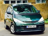 **TOYOTA PREVIA*1 OWNER*FULL TOYOTA SERVICE HISTORY WITH 15 STAMPS*INVOICES TOTALING NEARLY £13,000*