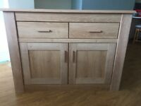 Beech effect sideboard in good condition