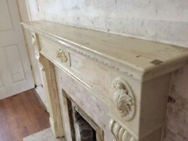 Mantle and Marble Back board