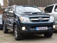 TOYOTA HILUX 3.0 TD INVINCIBLE 2009 - AUTOMATIC
