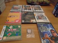 PC-CD ROM ,PS2, and Nintendo DS games
