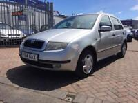 2001 SKODA FABIA 1.9 TDI 5 DOOR DIESEL CAR GREAT FUEL ECONOMY DRIVES SUPERB VERY CLEAN CAR LONG MOT