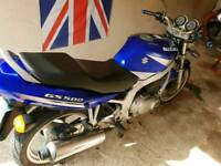 Suzuki GS500 low mileage