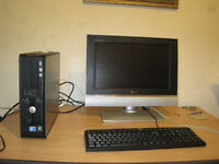 Dell Core2 duo full setup for sale