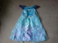 3 dresses - 1 Poppy, 1 Elsa, 1 Frozen