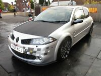 58 RENAULT MEGANE F1 2.0 DCI Renaultsport 3dr MINT CONDITION A1 DRIVE FSH 6 SPD CD LOW 88K PX SWAPS