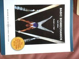 Basic Biomechanic by Susan J. Hall sixth edition