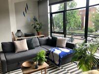 Ikea Friheten corner sofa-bed in Hyllie dark grey - owned 18 months - RRP £550