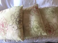 John Lewis curtains with matching cushions for sale!