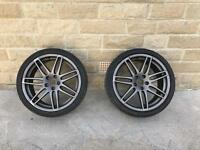 """Genuine Audi TTS/TTRS X2 19"""" Inch Alloys wheels With Tyres"""