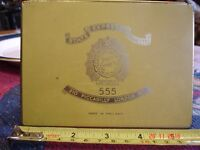 Vintage state express 555 cigarette tin. By appointment to H M King George VI