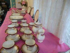 Royal Grafton Majestic Tea/Coffee dinner Set 69 Pieces