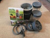 Nutribullet 600 series food blender in graphite