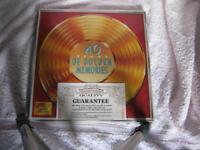 40 Years of Golden Memories. 1940 to 1979. 8 LP Set - Brand New